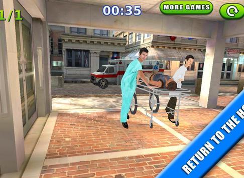 Emergency Rush: Patient Driver screenshot 11