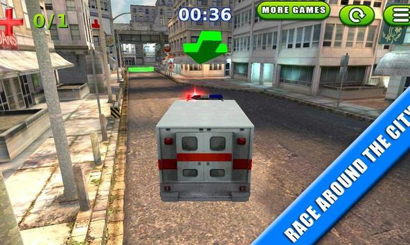 Emergency Rush: Patient Driver screenshot 1