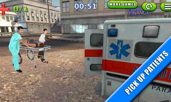 Emergency Rush: Patient Driver screenshot 2
