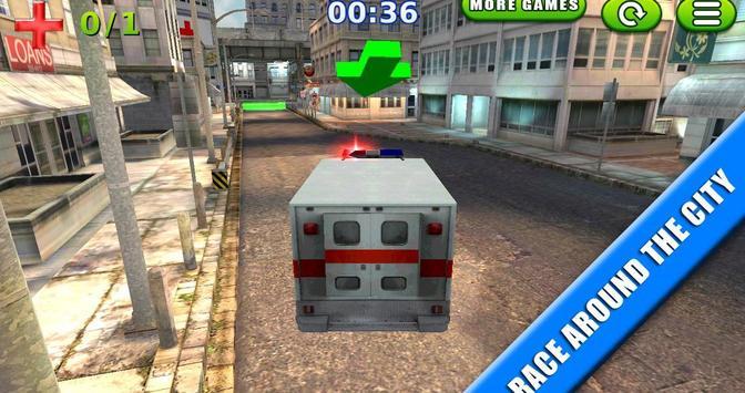 Emergency Rush: Patient Driver screenshot 5