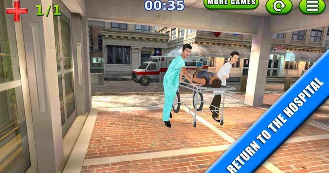 Emergency Rush: Patient Driver screenshot 7