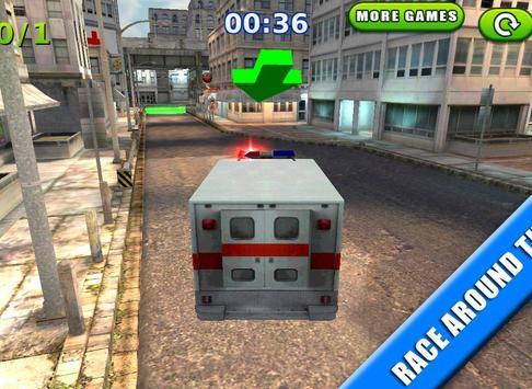 Emergency Rush: Patient Driver screenshot 9