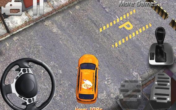 pizza delivery parking 3D HD screenshot 1