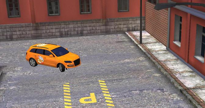 pizza delivery parking 3D HD screenshot 4