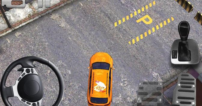 pizza delivery parking 3D HD screenshot 5