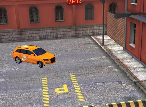 pizza delivery parking 3D HD screenshot 8