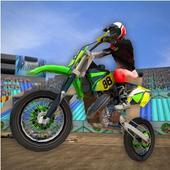 3D Motor Bike Stunt Mania icon