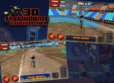 3D Motor Bike Stunt Mania screenshot 10