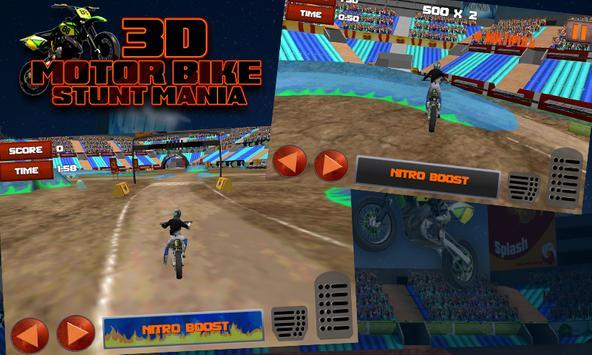 3D Motor Bike Stunt Mania screenshot 3