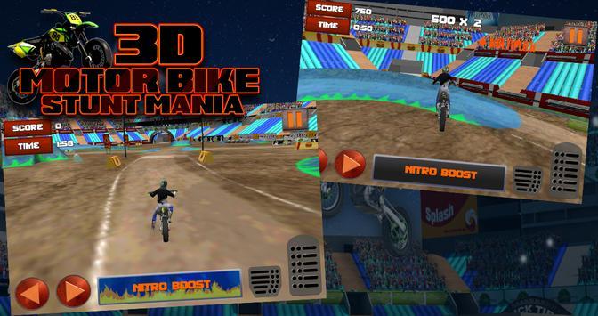 3D Motor Bike Stunt Mania screenshot 6