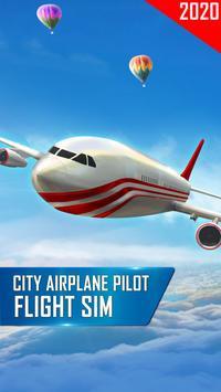Modern Airplane Pilot Flight Sim - New Plane Games screenshot 14