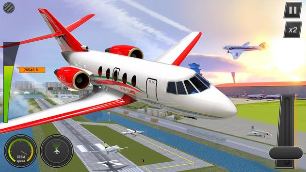 Modern Airplane Pilot Flight Sim - New Plane Games screenshot 17