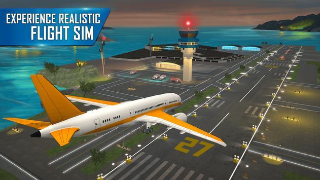 Modern Airplane Pilot Flight Sim - New Plane Games screenshot 1