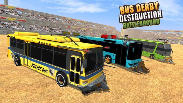 US Police Bus Demolition Derby Crash Stunts 2020 Screenshot 11