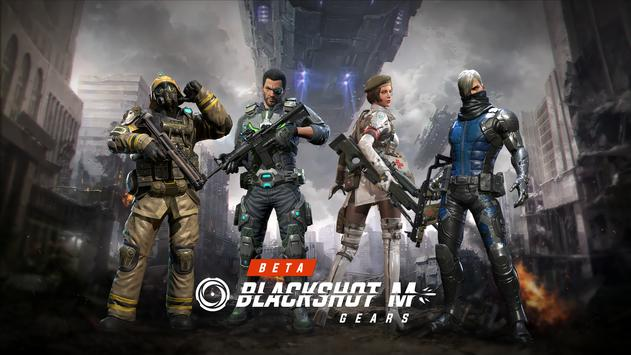 BlackShot M : Gears Cartaz