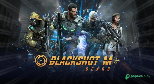 BlackShot M : Gears poster