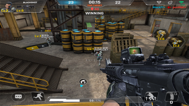 BlackShot M : Gears screenshot 5