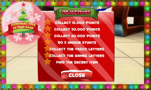 Christmas Toys 3D Stunt Game screenshot 3