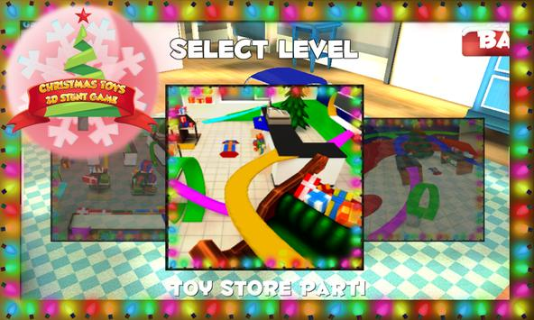 Christmas Toys 3D Stunt Game screenshot 1