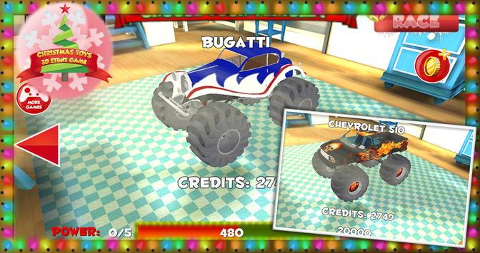 Christmas Toys 3D Stunt Game screenshot 5