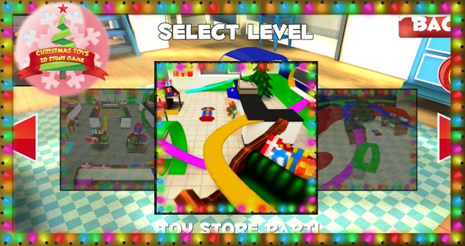 Christmas Toys 3D Stunt Game screenshot 6