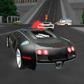 Crazy Driver Police Duty 3D icon