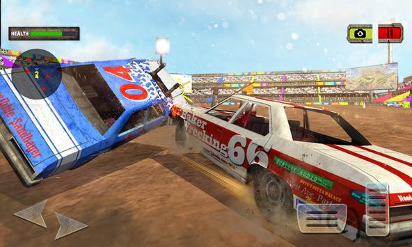 Demolition Derby Xtreme Racing poster