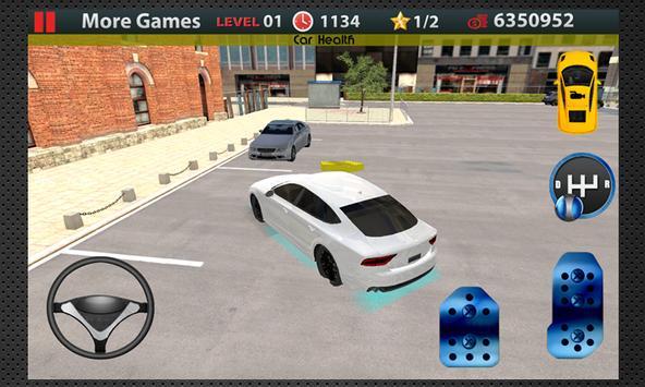 Poster Scuola guida 3D Parcheggio
