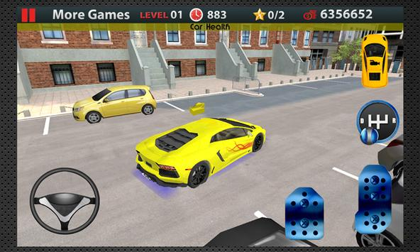2 Schermata Scuola guida 3D Parcheggio