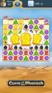 Kutukan Firaun: pertandingan 3 teka-teki gratis screenshot 12