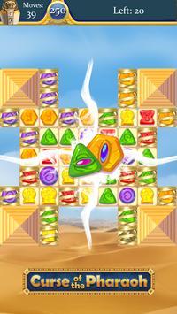 Kutukan Firaun: pertandingan 3 teka-teki gratis screenshot 14