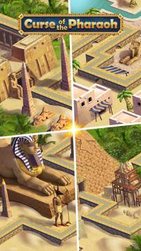 Kutukan Firaun: pertandingan 3 teka-teki gratis screenshot 16