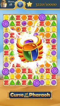 Kutukan Firaun: pertandingan 3 teka-teki gratis screenshot 1