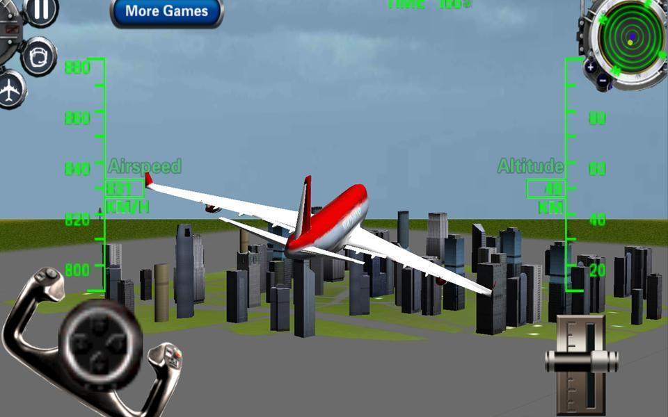 3D Airplane flight simulator 2 for Android - APK Download