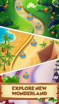 Monster Pet Adventure: Bubble Shooter Blast Games تصوير الشاشة 1
