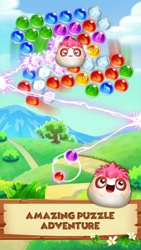 Monster Pet Adventure: Bubble Shooter Blast Games تصوير الشاشة 9