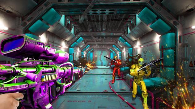 Real FPS Modern Strike Robot Shooting Game poster