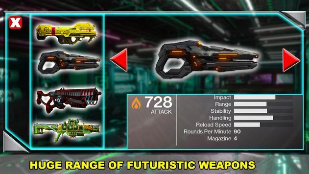 Real FPS Modern Strike Robot Shooting Game screenshot 10