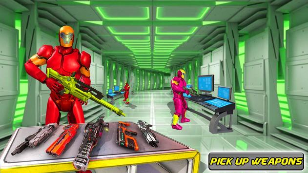 Real FPS Modern Strike Robot Shooting Game screenshot 7