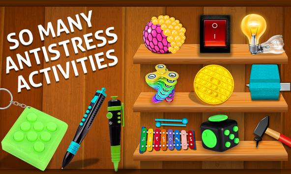 Fidget Cube 3D Antistress Toys - Calming Game screenshot 14
