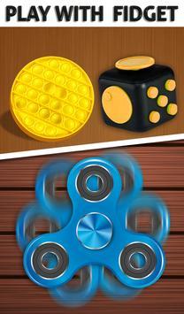 Fidget Cube 3D Antistress Toys - Calming Game screenshot 11