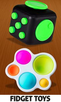 Fidget Cube 3D Antistress Toys - Calming Game screenshot 1