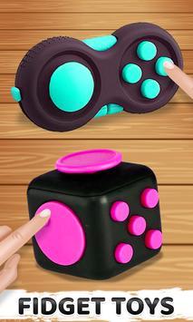 Fidget Cubes 3D Toys - Antistress & anti anxiety screenshot 1