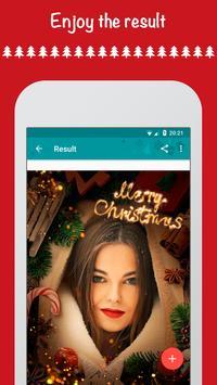 Christmas Photo Frames, Effects & Cards Art screenshot 5