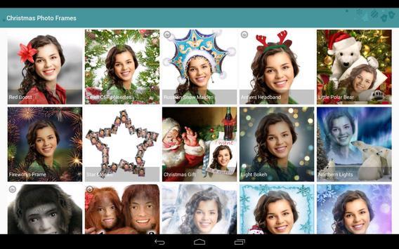 Christmas Photo Frames, Effects & Cards Art screenshot 8
