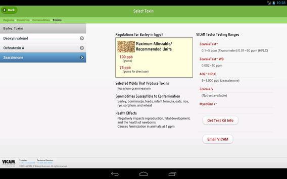 Global Mycotoxin Regulations screenshot 8