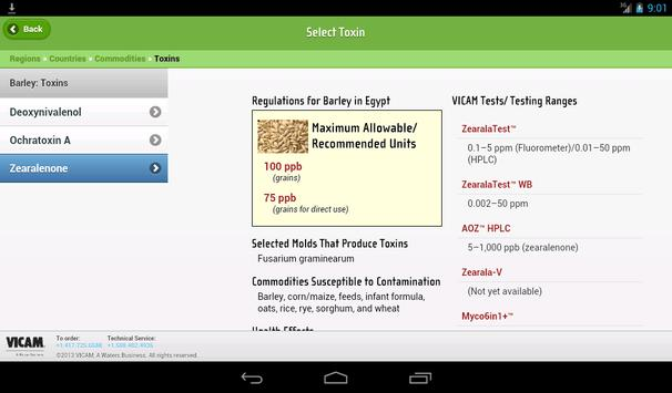 Global Mycotoxin Regulations screenshot 12