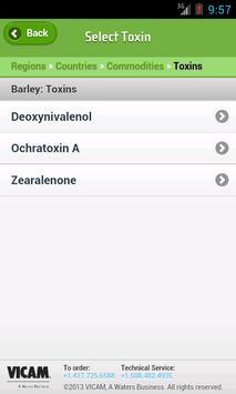 Global Mycotoxin Regulations screenshot 3