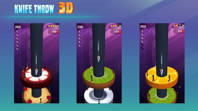 Knife Throw 3D screenshot 3