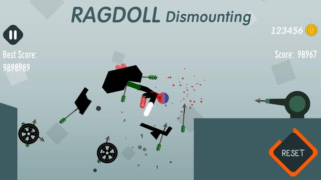 Ragdoll Dismounting screenshot 1